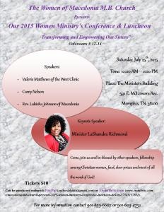 Women's Brunch Flyer 3