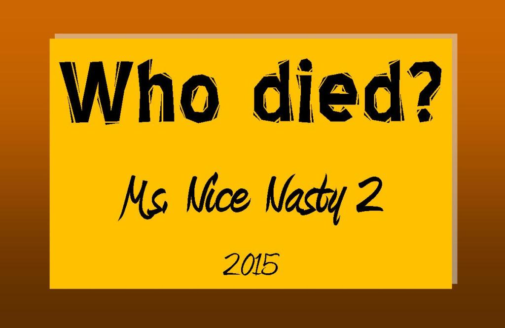 Who died