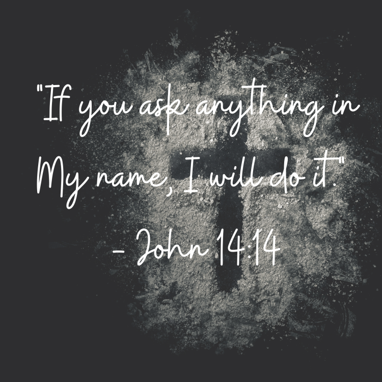 God, Let your power fall when your name is called ...