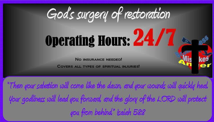 God's surgery