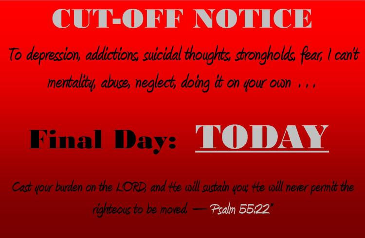 Cut off notice