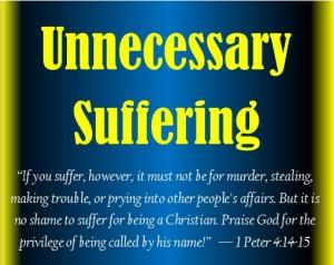 unnecessary-suffering